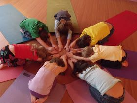 Yoga today was filled with group activities. We started with a foot massage - we each grabbed both our feet and started massaging our big to...