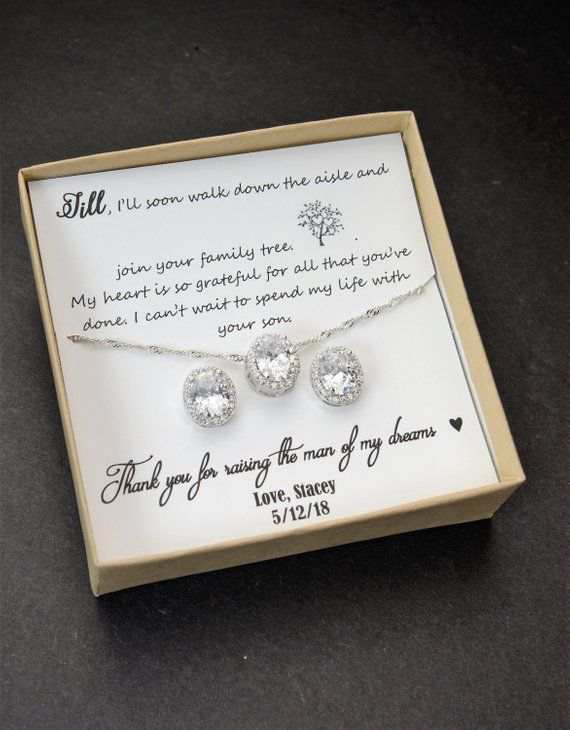 Mother Of The Groom Set Mother Of The Bride Set Bridal Jewelry