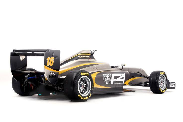 BRDC F4  Tatuus-Cosworth F4-016