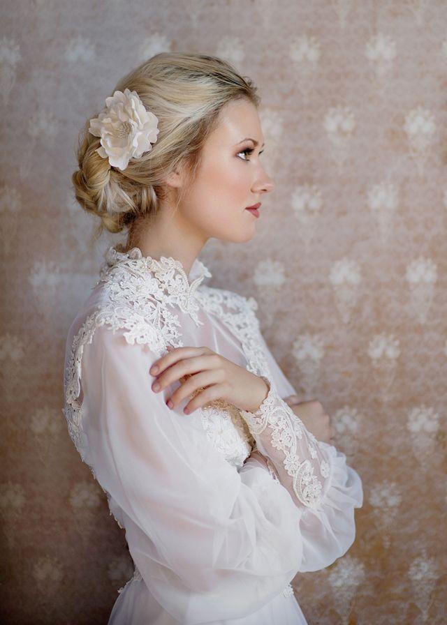 Vintage gown #wedding