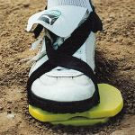 Pivot Pro Training Aid. Helps develop a proper pivot motion for great hitting. Develop individual stride length, proper hip and shoulder rotation, resulting in a quicker swing, better tracking of the thrown ball.        The teaching and developmental tool for a great hitting motion.      Improve batting averages, learn proper hitting mechanics with this compact, safely designed, lightweight, portable device.      Correct overstriding, stepping in the bucket, improper weight shift and…