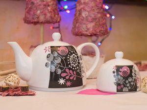 Новогодняя акция! При покупке чайника - сахарница в подарок! | Ярмарка Мастеров - ручная работа, handmade