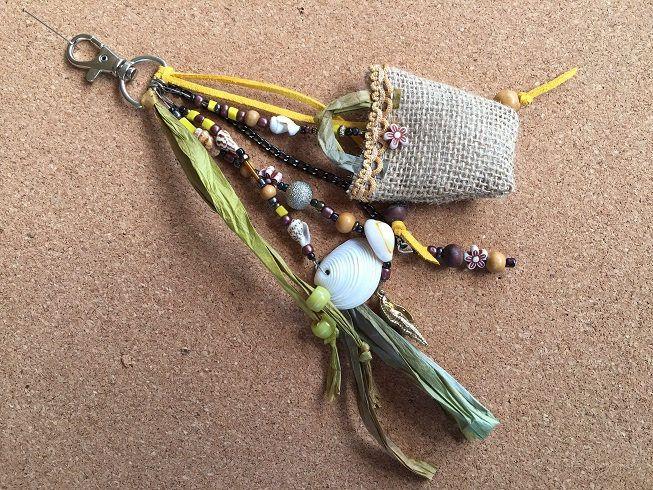 bohemian bag charm /key chain boho / bohemian jewellery/key chain boho / gypsy beach bag charm /gift key charm/ key chain boho tassel by BelaCiganaBags on Etsy