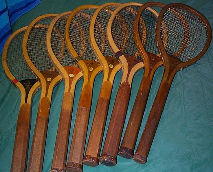 Antique Wood Tennis Rackets for sale