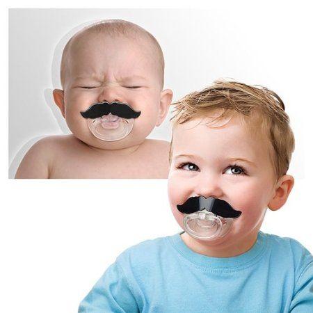 Chill Baby - el chupete de maniquí de bigote: Amazon.es: Bebé
