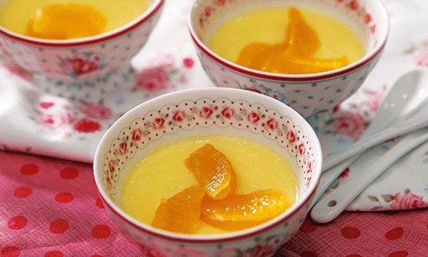 Mousse de clementinas