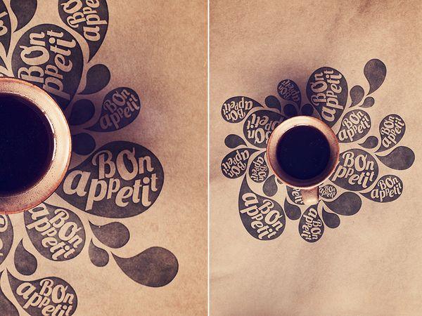 Pictures for pastry bakery III by Anastasiya Sirtsova, via Behance