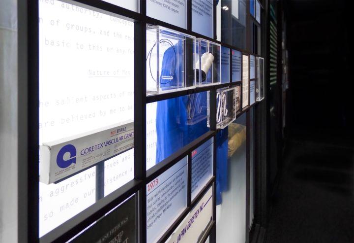 W.L. Gore & Associates History Exhibit by Lynn Paik Design, Newark – Delaware » Retail Design Blog