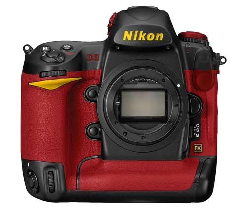 Nikon D3 Red Edition