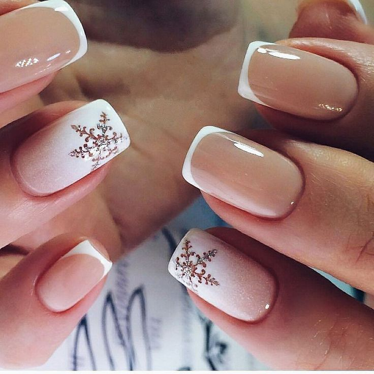 36 Simple Winter Nail Art Ideas For 2018