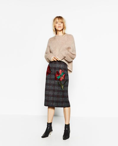 PATCH PENCIL SKIRT-View all-SKIRTS-WOMAN | ZARA Philippines