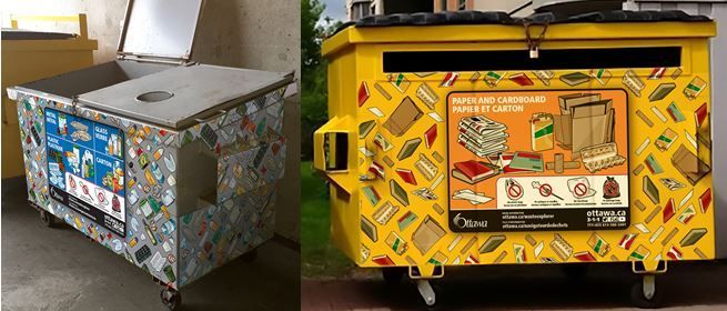 Pin#0048 Multi-Residential Front End Bin Wraps in City of Ottawa CIF Project #929