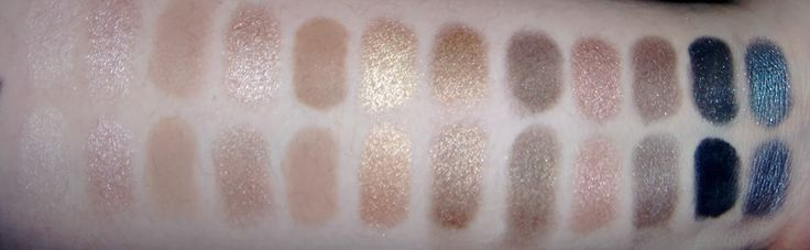 Harlot Beauty: Coastal Scents Revealed Palette VS. Urban Decay Naked and Naked 2! Swatches, Dupes and Comparisons