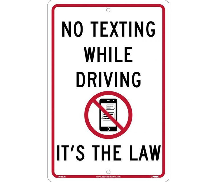 texting while driving laws Texting drivers: penalty points and fines to it was important for people to see that laws were being ultimate price' for texting while driving.