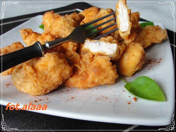 Chrupiące kurczaki - Przekąski impreza,kurczak,obiad,przekąska,student - kobieceinspiracje.pl