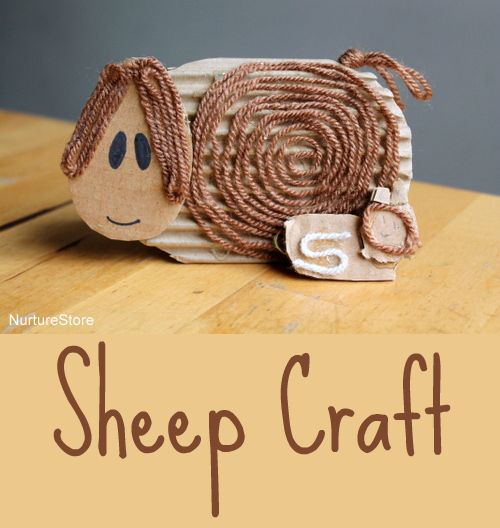 Super cute and easy sheep craft - Easter crafts for toddlers and preschool