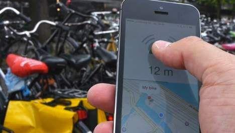 Amsterdams bedrijf ontwikkelt fietsbel die zoekgeraakte fiets opspoort - AMSTERDAM - PAROOL