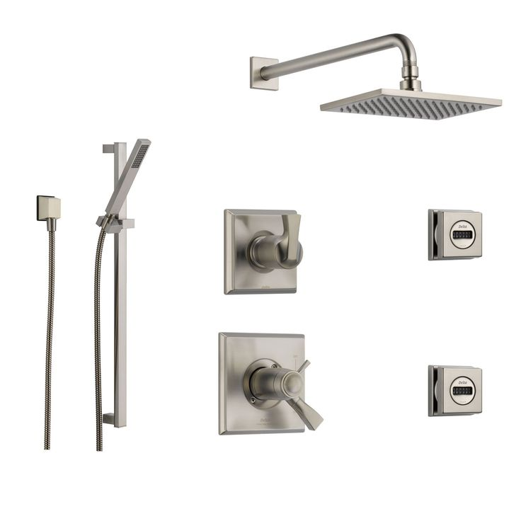 Best 25 hand held shower ideas on pinterest hand held shower heads shower heads and shower for Delta bathroom shower systems