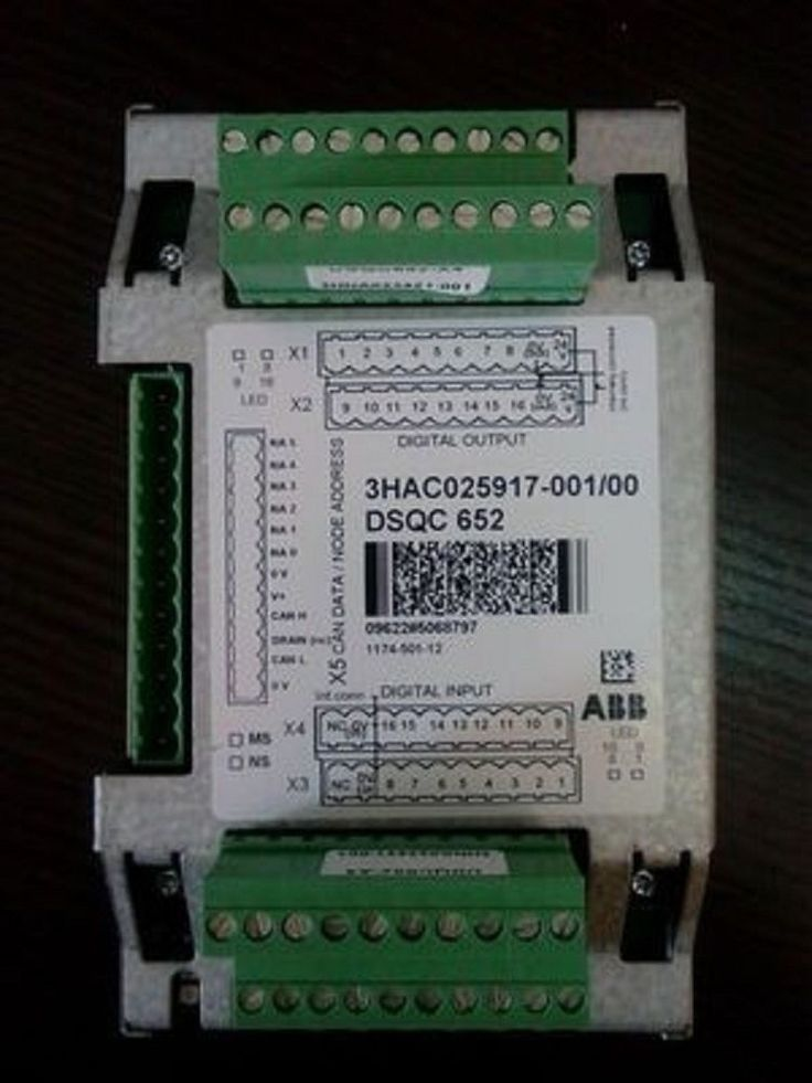 New ABB Robot IO Module DSQC652 3HAC025917-001