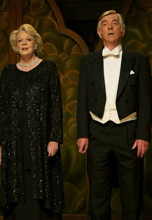 Dame Maggie Smith and Sir Tom Courtenay. 2 of the finest actors in the world.