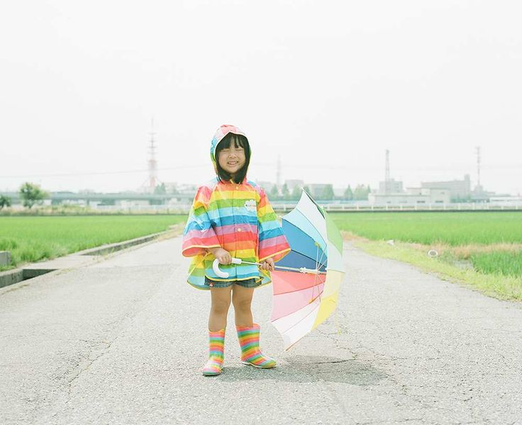 Nagano Toyokazu Takes Cutest Photos of His Photogenic Little Daughters #inspiration #photography