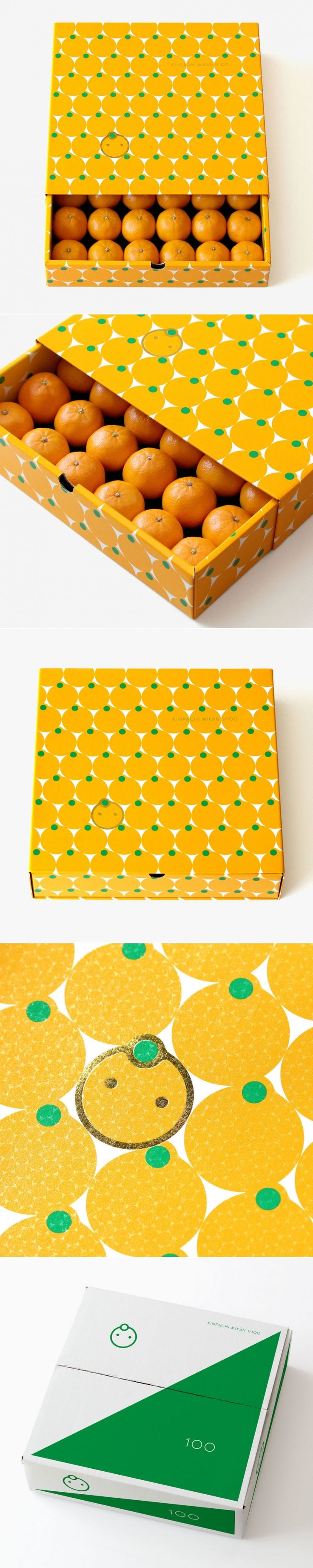 These Special Japanese Oranges Come With Adorable Packaging — The Dieline | Packaging & Branding Design & Innovation News
