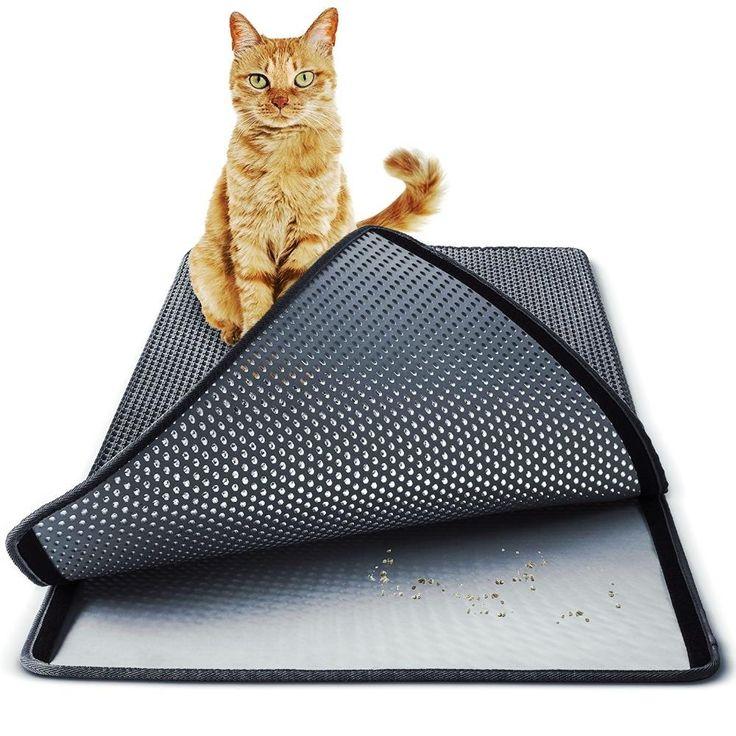 3 Size Large Double Layer Cat Litter Mat Cat litter mat