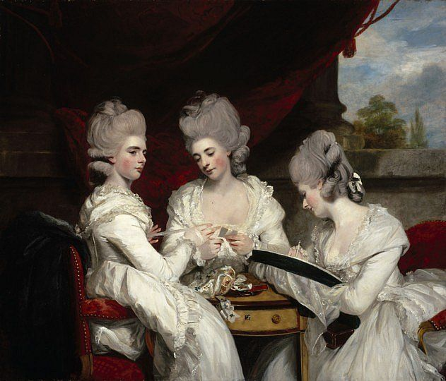 The Ladies Waldegrave − Sir Joshua Reynolds − r − Artists A-Z − Online Collection − Collection − National Galleries of Scotland