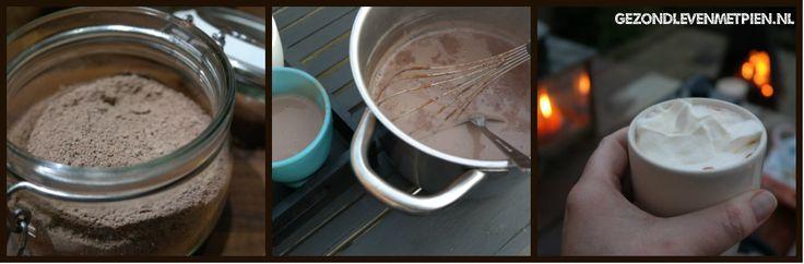 Zelf dikke en suikervrije chocolademelk maken is eenvoudig met deze suikervrije basismix.