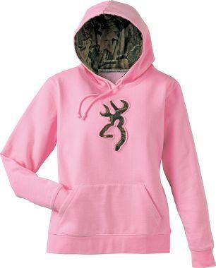 Browning® Women's Buckmark Sweatshirt, Women's Sweatshirts, Women's Tops, Women's Clothing, Clothing : Cabela's
