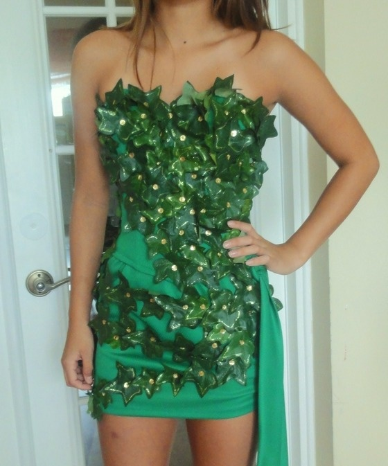 14 best Poison Ivy chemo costume ideas images on Pinterest Costume - green dress halloween costume ideas