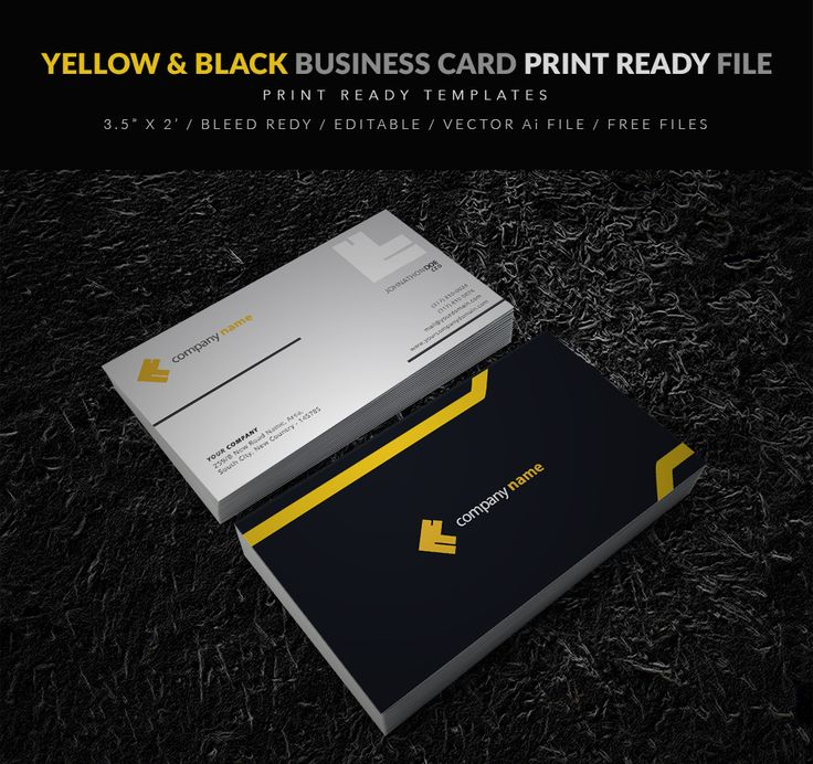 Best Business Card Templates Free Vector PSD Print Ready - Editable business card templates free