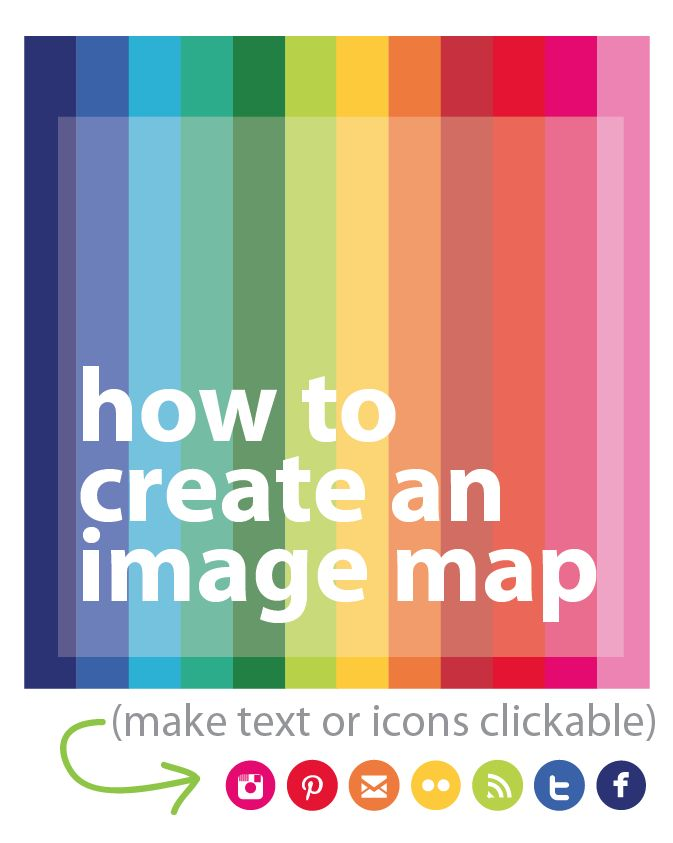 How To Create an Image Map (for free!) - crafterhours