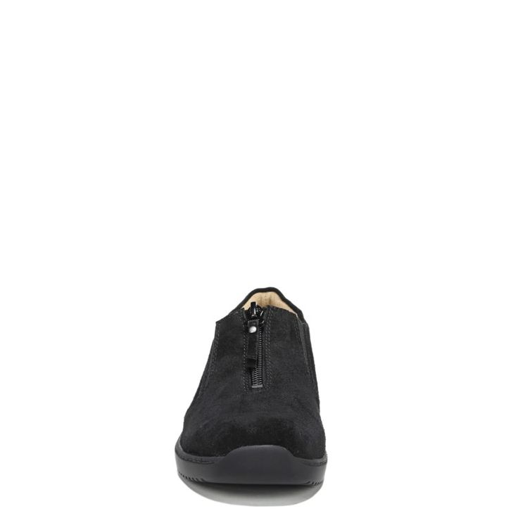 Natural Soul Women's Luxe Medium/Wide Slip On Shoes (Black)