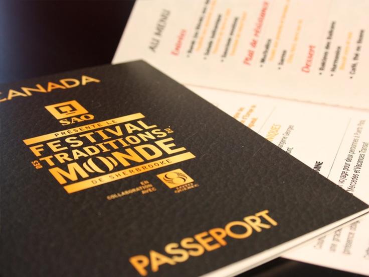 Billets Passeport Festival des Traditions du monde de Sherbrooke 2011