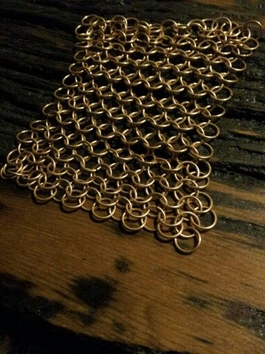 Bronze euro weave