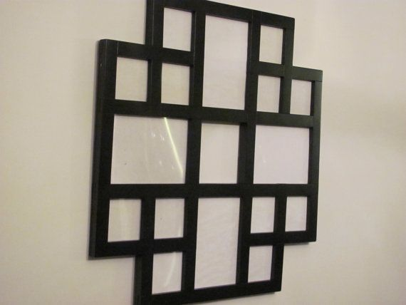 Collage Picture Frame Multiple Pictures Frame by ZimWoodworking