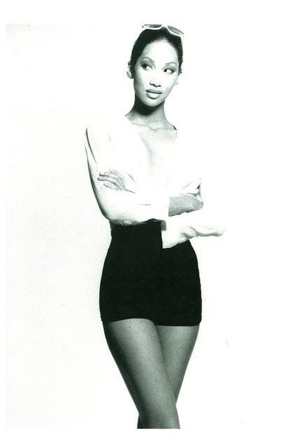 Young Kimora Lee Simmons…