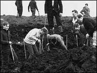 Myra Hindley - killed on the Moors with boyfriend Ian Brady