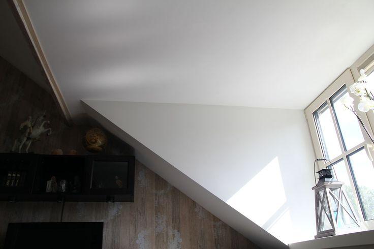 Mooi afgewerkte dakkapel met stucwerk
