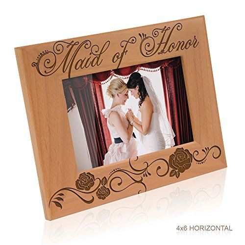 Kate Posh  Maid of Honor Picture Frame 4x6 Horizontal * Read more  at the image link. Note:It is Affiliate Link to Amazon.