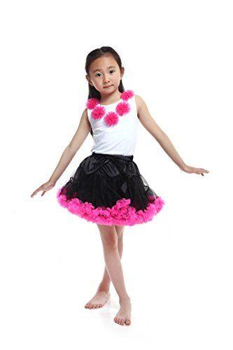 Tortoise & Rabbit Baby Girl's Floral Petticoat Fluffy Princess Tutu Dress Set (S, Rose Red) Tortoise & Rabbit http://www.amazon.com/dp/B00RXQFGFI/ref=cm_sw_r_pi_dp_x9Ccxb064M7VG