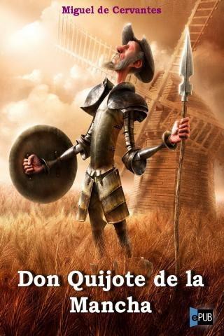 Caratula de un libro Don Quijote de la Mancha