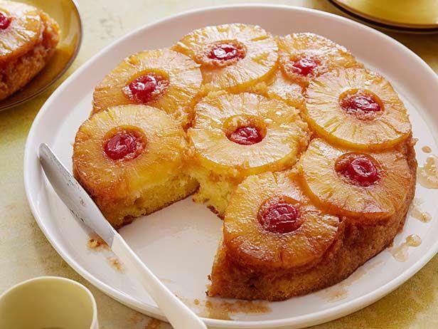 The Neelys' Pineapple Upside-Down Grit Cake