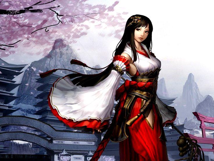 Anime chinese warrior anime warrior anime asian - Anime female warrior ...