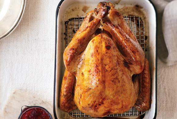 Cider-Brined Turkey With Gravy