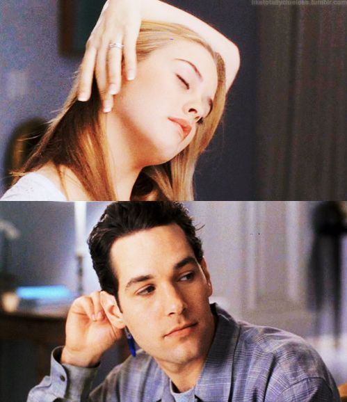 Paul Rudd...in Clueless...so adorable.