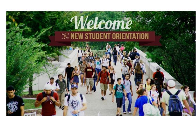 #txst New Student Orientation!