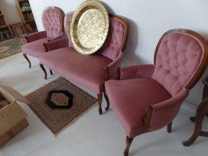 Basement 7 - Provenance Auction House: A Three Piece Salon Suite.