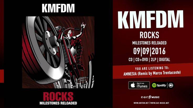 KMFDM 'Amnesia' Marco Trentacoste Remix